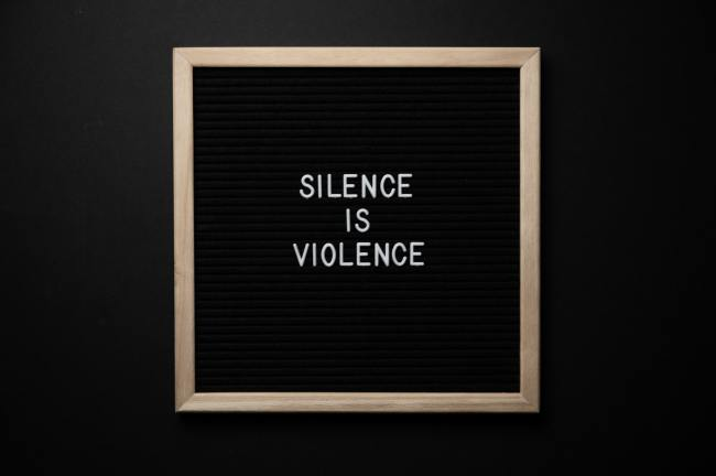 silence is violent